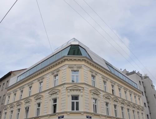 Dr. Vago Dachgeschossausbau Rotenhofgasse Wien